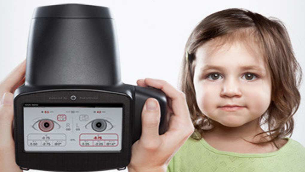 Pediavision's Spot vision screening device takes a complete 'picture' of a child's vision and eye health